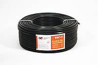 ВВГ-П нг 2х2,5мм²  СКЗ чёрный (100% ГОСТ) медь