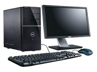 Компьютер в сборе, Intel Core 2 Quad 4x2.4 Ггц, 2 Гб ОЗУ DDR2, 80 Гб HDD, монитор 22 дюйма