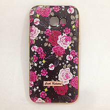 Чехол Samsung A520 2017 Flowers&Diamonds