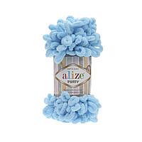 Alize Puffy, №287, голубой