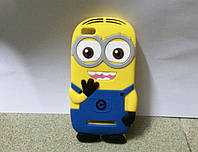 Резиновый 3D чехол для Xiaomi Mi 4i Миньон