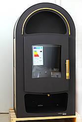 Печь для дома с водяным обогревом Haas+Sohn Grand Max Plus 2/11 Золотая