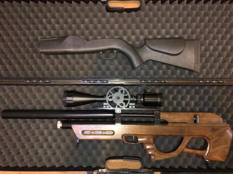 Bullpup набор для Walther Dominator 1250 FT
