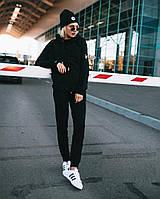 Женский теплый спортивный костюм с капюшоном