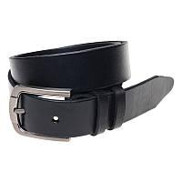 Мужской кожаный ремень Borsa Leather br-125rmkn2-black