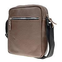 Мужская кожаная сумка Borsa Leather 10t1024-brown