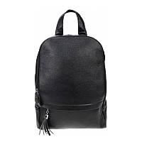 Рюкзак женский кожаный Borsa Leather 10t10085-black
