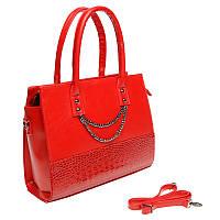 Деловая красная сумка Monsen 10t32202-red