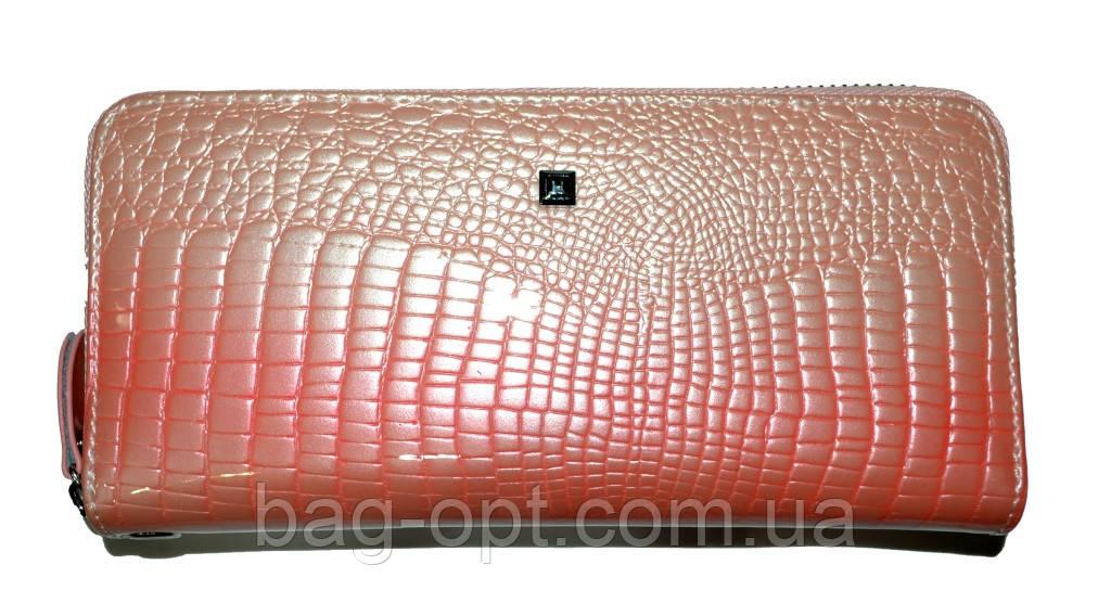 Женский кошелек из натуральной кожи Henghuang (9.5x19x2.5 см)