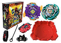 Beyblade Набор Арена + Heaven Pegasus + Gaia Dragon + Led Часы