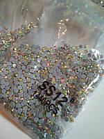 Опт. Стразы премиум Best термоклеевые, Crystal AB ss12 (3,00 мм), 10 уп /14400 шт