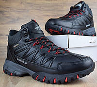 Зимние ботинки The North Face Ultra 110 черные кожа 41-46рр. Живое фото. Реплика, фото 1