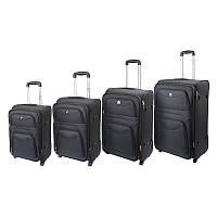 Набор чемоданов FLY 4 шт 1001-black