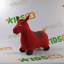 Прыгун-лошадка в мягком чехле для малышей MS 0325. Гарантия качества. Быстрая доставка.