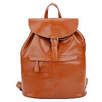 Женский кожаный рюкзак Borsa Leather 10t5008-brown
