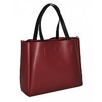 Женская бордовая сумка Monsen 1035458-burgundi