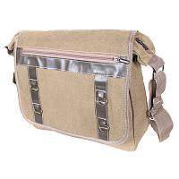Мужская матерчатая сумка Monsen 10303227-beige, фото 1