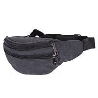 Мужская текстильная сумка на пояс Monsen 10q001-5-black