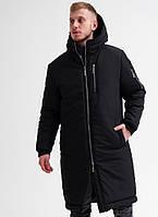 Мужская зимняя куртка Asos Снеговик длинная. Живое фото