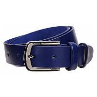 Ремень из кожи Borsa Leather 125R1350002-blue, фото 1