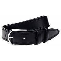 Мужской ремень из кожи Borsa Leather 125R1350330-black, фото 1