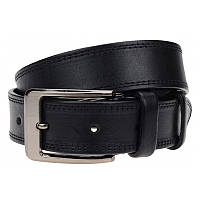 Мужской кожаный  ремень Borsa Leather 125R1350325-black, фото 1
