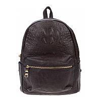 Женский кожаный рюкзак Borsa Leather 10t2322-brown