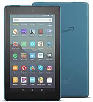 Amazon Fire 7 inch IPS, Wi-Fi, 1/16 GB, Quad-Core, FireOS Качественный планшет 9th gen 2019 Blue - синий
