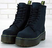 Женские зимние ботинки Dr. Martens JADON black без меха 36-40рр. Реальное фото. Топ реплика