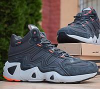 Зимние мужские кроссовки Adidas Equipment FYW S-97 серые 41-46рр. Живое фото. Реплика