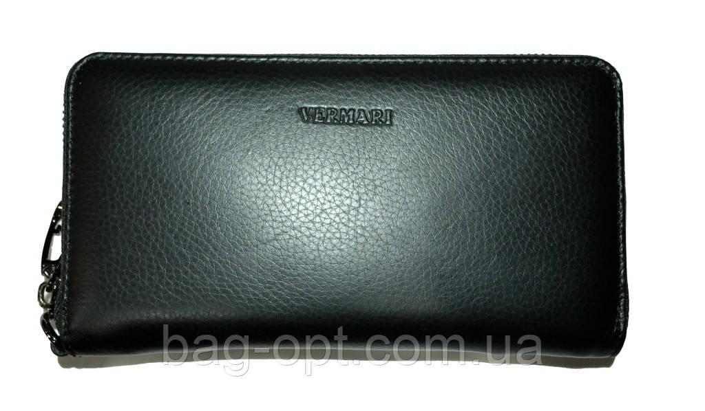 Женский кошелек из натуральной кожи VerMari (10.5x19x2.5 см)