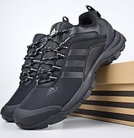 Зимние мужские кроссовки Adidas Climaproof низкие черные 41-46рр. Живое фото. Реплика