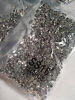 Опт. Стразы премиум Best термоклеевые, Crystal ss16 (3,80 мм), 10 уп /14400 шт, фото 1