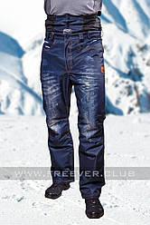 Мужские горнолыжные брюки FREEVER 6752 джинс