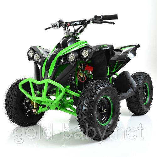 Детский квадроцикл Profi HB-EATV1000Q-5 V2, зеленый, фото 1