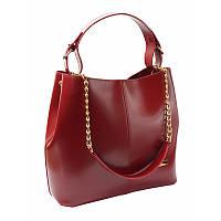 Женская сумка Monsen 108871558-burgundi