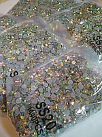 Опт. Стразы премиум Best термоклеевые, Crystal AB ss20 (4,80 мм), 10 уп /14400 шт, фото 1