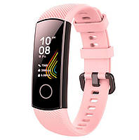 Силиконовый ремешок Primo для фитнес-браслета Huawei Honor Band 4 / 5 - Pink