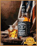 Картины по номерам 40×50 см. Babylon Premium Теннесси Виски Джек Дэниэлс