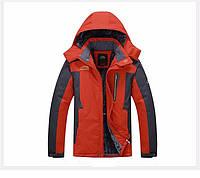 Мужская зимняя ветро-влагозащитная куртка парка большой размер 68рр., фото 1