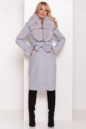 Зимові пальто з кашеміру, вовни, твіду