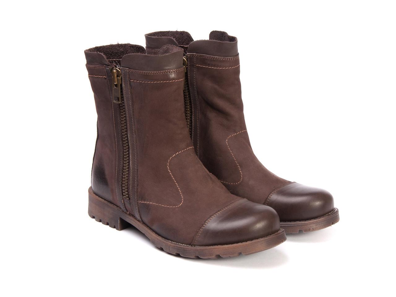 Сапоги  Etor 10074-3410 44 коричневые