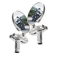 Мото дзеркала Oxford BarEnd Mirrors - Silver Set