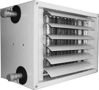 Тепловентилятори з водяним калорифером LH130