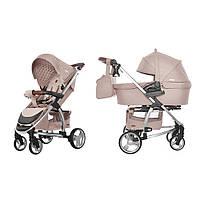 Детская Универсальная коляска 2 в 1 CARRELLO Vista CRL-6501 (Каррелло Виста) Stone Beige