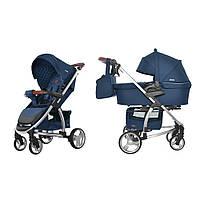 Детская Универсальная коляска 2 в 1 CARRELLO Vista CRL-6501 (Каррелло Виста) Denim Blue