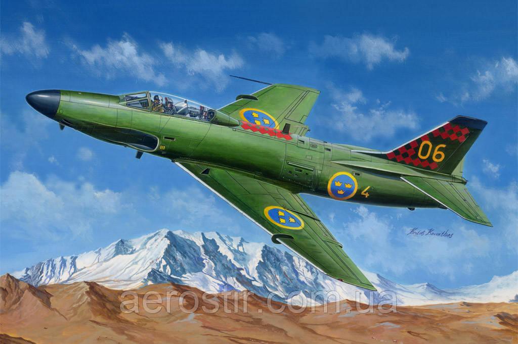 Saab J-32B/E Lansen 1/48 Hobby Boss 81752