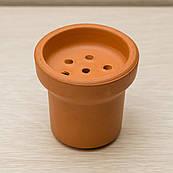 Чаша для Кальяна из красной глины теракот. Чилимы глиняные