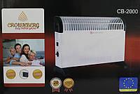 Электрический Конвектор Crownberg CB-2000 Конвекторный Обогреватель