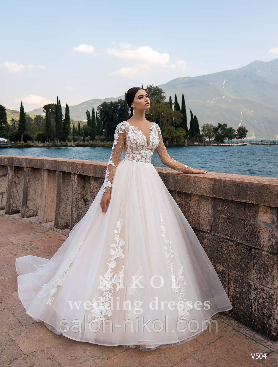 Свадебное платье № V504